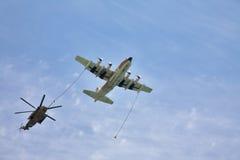 直升机飞机 免版税库存照片
