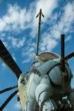 直升机mi24 库存照片