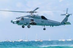 直升机SH-60B Seahawk 库存照片