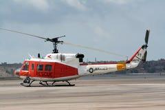 直升飞机营救我们 库存图片