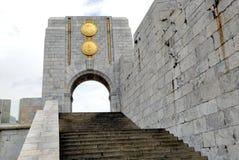 直布罗陀墙壁 免版税库存照片
