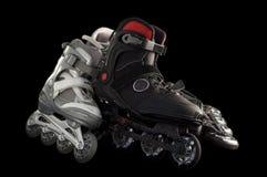 直排轮式溜冰鞋 库存图片