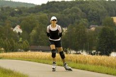 直排轮式溜冰鞋#3 免版税库存图片