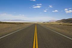 直接高速公路 免版税库存照片