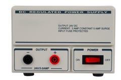 直流电功率调控的用品 免版税图库摄影