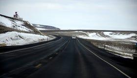 相互州际高速公路美国195 库存图片