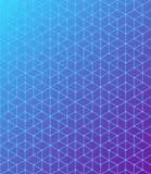 相交的线的几何样式 蓝色是一个紫色梯度 提取您背景的设计 向量 库存例证