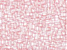 相交的长方形 免版税库存图片