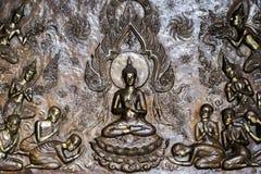 相信在菩萨泰国人 库存图片