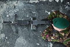 相关的军事、军队和所有事 免版税图库摄影