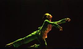 相当中国全国舞蹈家 免版税库存图片