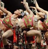 相当中国舞蹈演员 库存图片