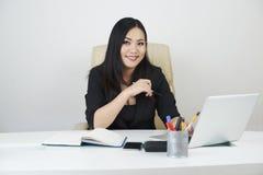 相当女性企业家 免版税库存图片