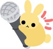 相当小的兔子 免版税图库摄影