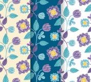 相当手拉的五颜六色的花纹花样集合 库存照片