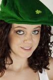 相当爱尔兰少女 图库摄影