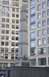 相当纪念碑价值的威廉Jenkings在相当正方形价值在从纽约的曼哈顿在美国 图库摄影