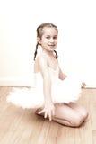 相当芭蕾舞女演员年轻人 免版税库存图片