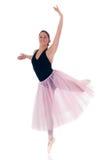 相当芭蕾舞女演员 免版税库存照片