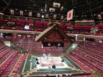 相扑体育场在东京,日本 库存照片