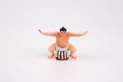 相扑摔跤手图  库存照片