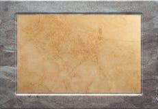 相框木头 向量例证