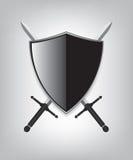 盾和剑 库存照片