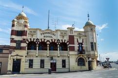 省旅馆在Ballarat 免版税库存照片