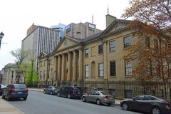 省议院,哈利法克斯,新斯科舍,加拿大 免版税图库摄影