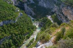 看下来对从观点的峡谷维登 库存照片
