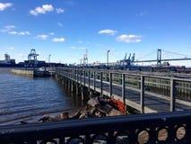 看到港口 免版税库存图片