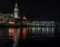 看北部从码头14旧金山 免版税库存照片