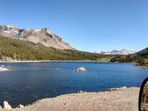看北部优胜美地国家公园的加利福尼亚和内华达 免版税库存照片