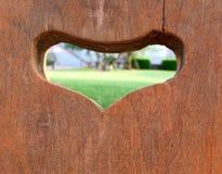 看在您的心脏里面 免版税库存照片