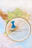 看在摩纳哥 免版税库存照片