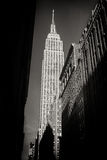 看帝国大厦,纽约 免版税库存图片