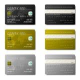 看板卡借项 向量例证