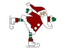 看板卡克劳斯・圣诞老人 库存照片