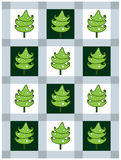 看板卡冷杉新的s结构树年 免版税图库摄影