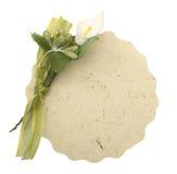 看板卡卵形婚礼 库存照片