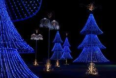 看板卡圣诞树愿望 库存图片