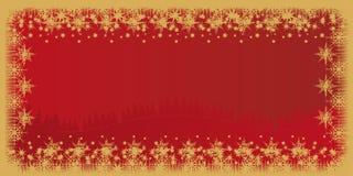 看板卡圣诞节冬天 免版税库存照片