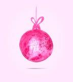 看板卡圣诞节招呼的新年度 图库摄影