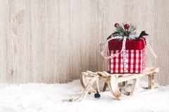 看板卡圣诞节礼品图象更多我的投资组合 背景圣诞节新年度 库存照片