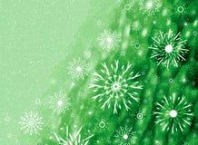 看板卡圣诞节绿色 免版税库存照片