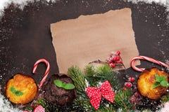 看板卡圣诞节问候 免版税图库摄影