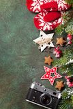 看板卡圣诞节问候 库存照片