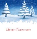 看板卡圣诞节问候 免版税库存图片