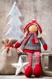 看板卡圣诞节问候 Noel地精背景 圣诞节标志 免版税库存图片