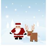 看板卡圣诞节 库存例证
